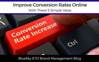 Improve Conversion Rates Online With These 5 Simple Ideas