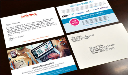 digital handwriting marketing campaigns