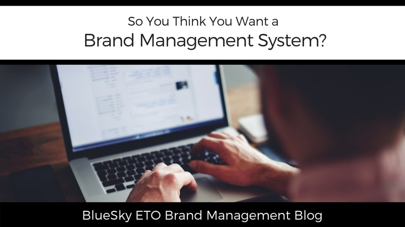 So You Think You Want a Brand Management System?