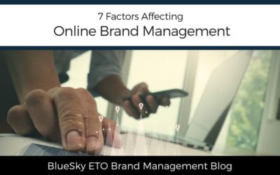 7 Factors Affecting Online Brand Management